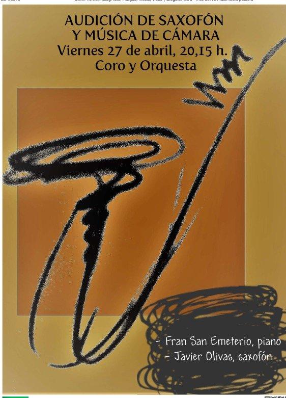 Alumnos de saxofón @ Coro y Orquesta