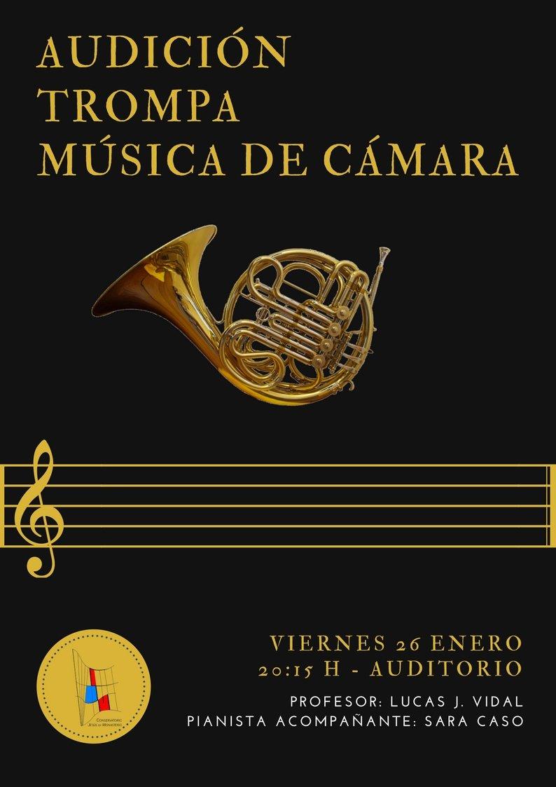 Audición de Trompa y Música de Cámara @ Auditorio