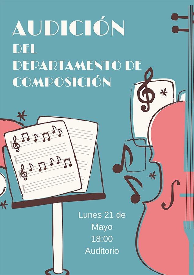 Audición del departamento de Composición @ Auditorio