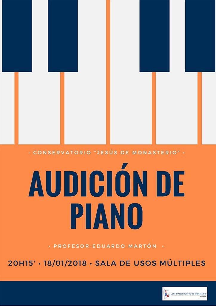 Audición de Piano @ Usos múltiples