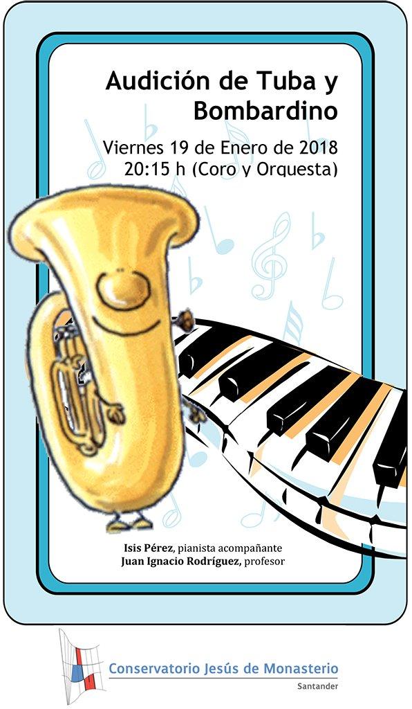 Audición de Tuba @ Sala de Coro y Orquesta