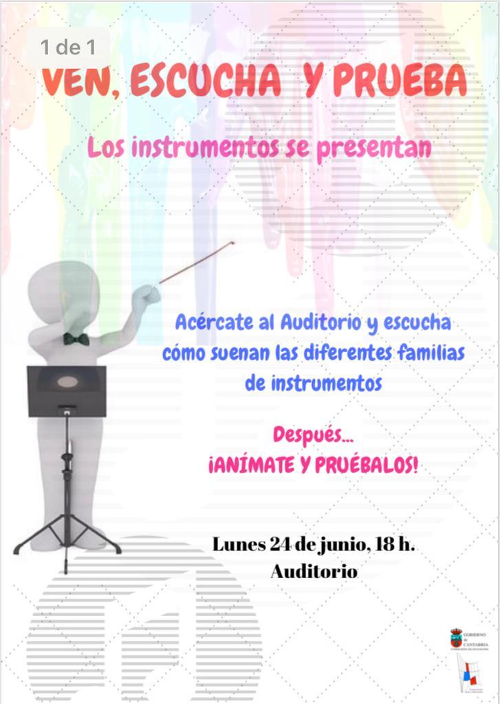 Concierto presentación de instrumento @ Auditorio