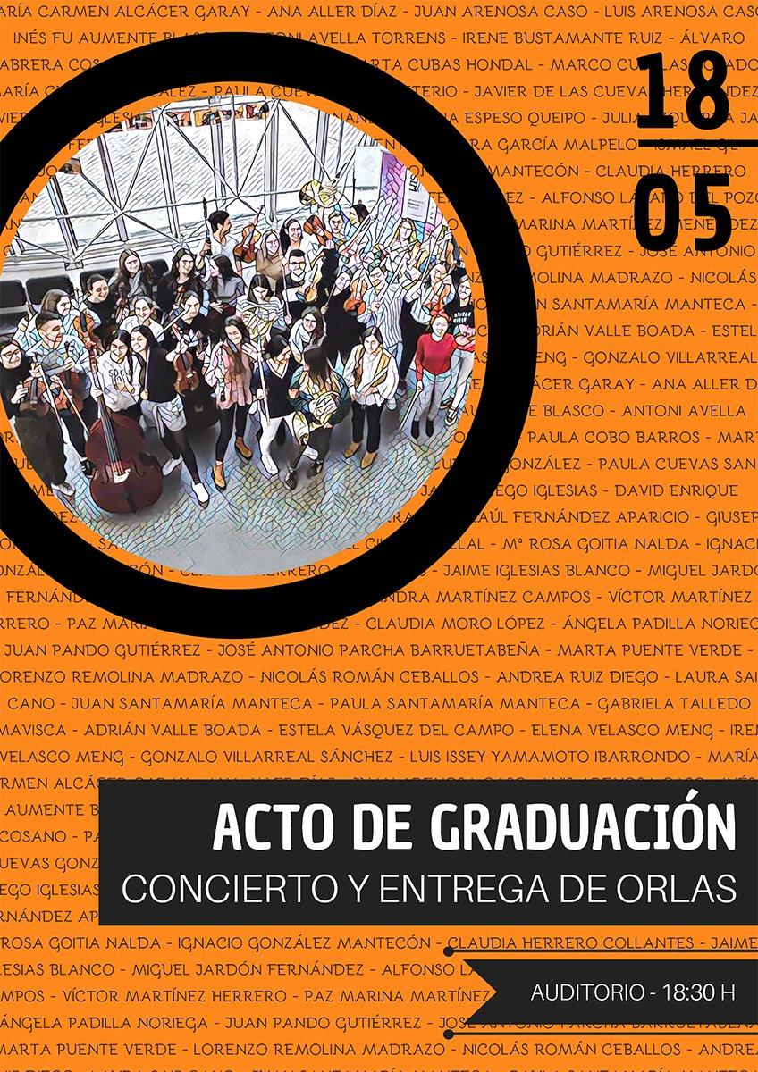 Concierto y Acto de Graduación - Orlas @ Auditorio