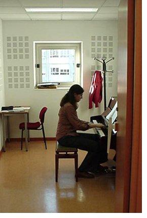 cabinas de estudio