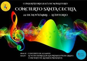 Concierto de alumnos (Santa Cecilia) @ auditorio